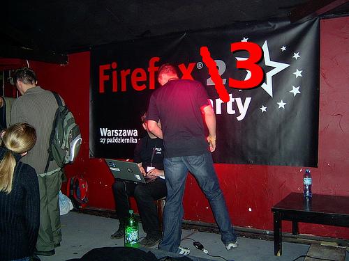 Firefox 2 party w Warszawie